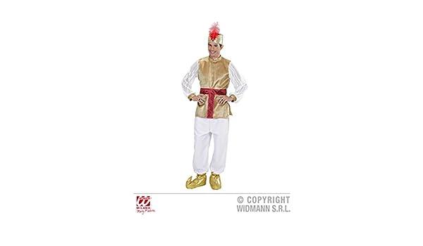 Disfraz de Sultán para Hombre Estilo Bollywood Medium (37-40 ...