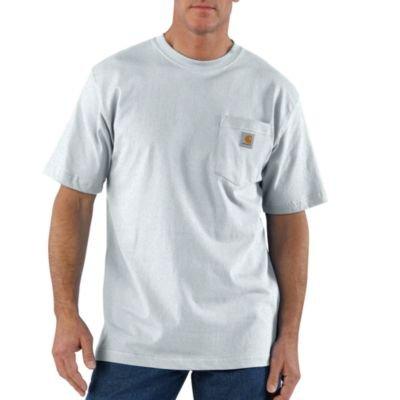 ear Pocket T-Shirt-Ash-3XL (Carhartt Workwear Pocket Tees)