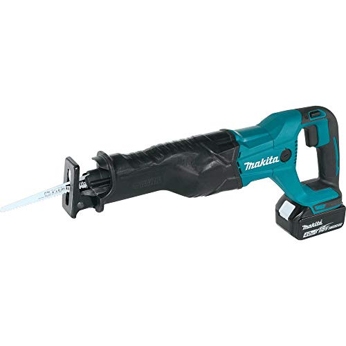 Makita XRJ04M 18V LXT Lithium-Ion Cordless Reciprocating Saw Kit (Discontinued by Manufacturer)