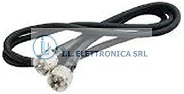 Cable de empalme coaxial RG-58A/U con clavijas macho ...