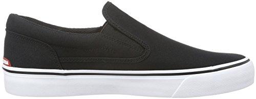 DC Trase, Herren Sneakers, Schwarz (Black/White - BKW), 46 EU (11 Herren UK)