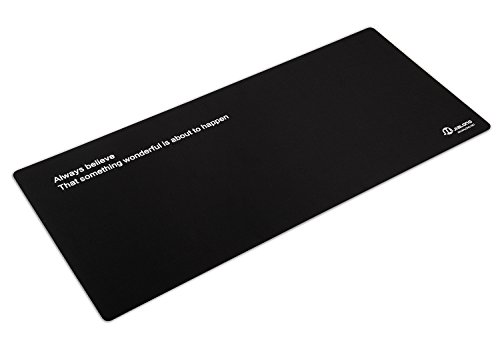 Eligoo Gaming Mouse Pad Extended XXXL Large Customized Words Black Mouse Mat - 900x400mm Dimension Photo #2