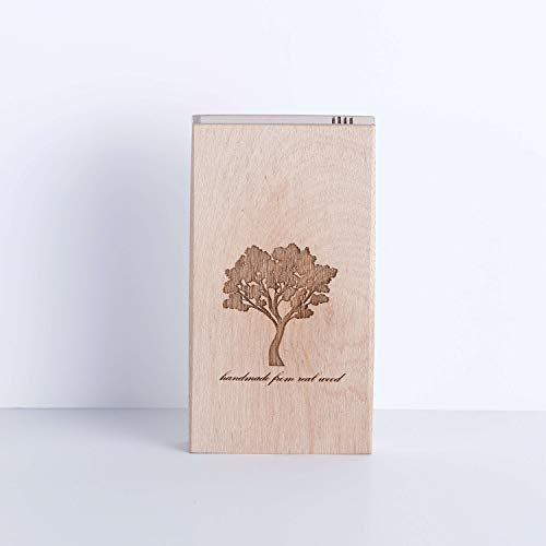Value Handmade Handcrafted Slim Wooden Cigarette Box, Pocket Carrying Cigarette Case, Brown (Maple Wood) by Value Handmade (Image #2)