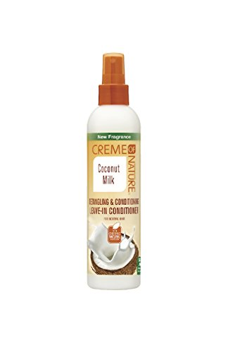 (Creme of Nature Coconut Milk Detangling Leave In)