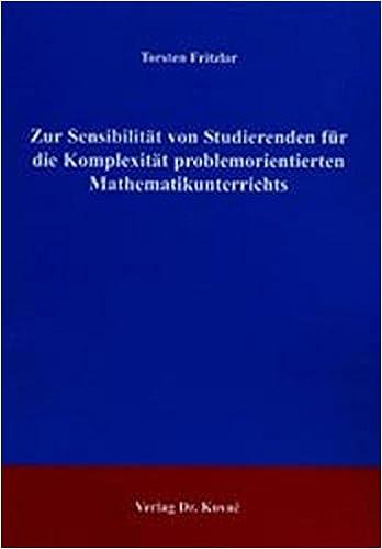Zur Sensibilität von Studierenden für die Komplexität problemorientierten Mathematikunterrichts