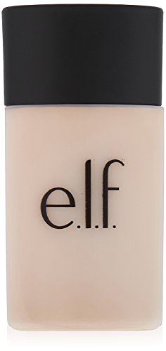 e.l.f. Cosmetics Acne Fighting Foundation, Full Coverage Foundation that Fights Blemishes, Sand, 1.0 Fluid Ounces