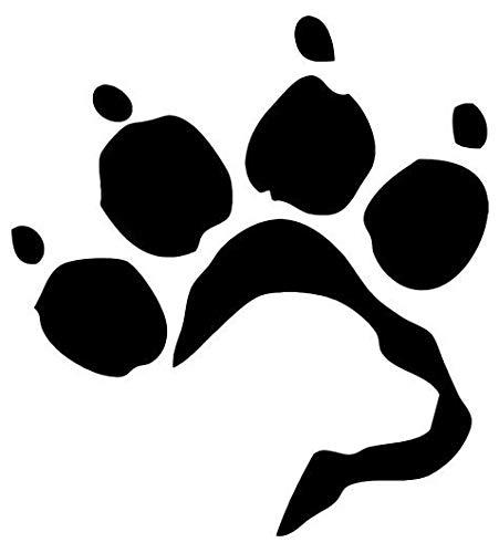 (Labrador Retriever Paw Print Pet Animal - Sticker Graphic - Auto, Wall, Laptop, Cell, Truck Sticker for Windows, Cars, Trucks)