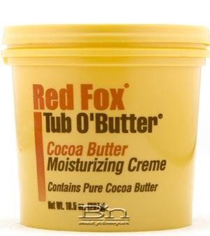 Red Fox Tub O Butter Cocoa Butter 10.5oz (6 Pack)