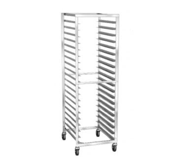 Lakeside Stainless Steel Roll-In Cooler and Proofer Rack, 11 Full Pan Capacity - 1 each.