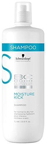 BC Bonacure MOISTURE KICK Shampoo, 33.81-Ounce (Kick Moisture Bc)
