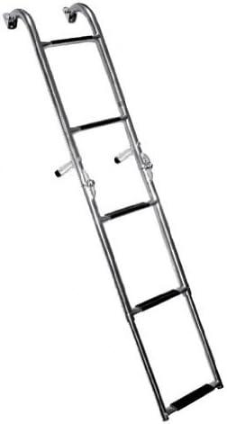 Norestar acero inoxidable espejo de popa en 5 pasos/Stern barco escalera de embarque: Amazon.es: Deportes y aire libre