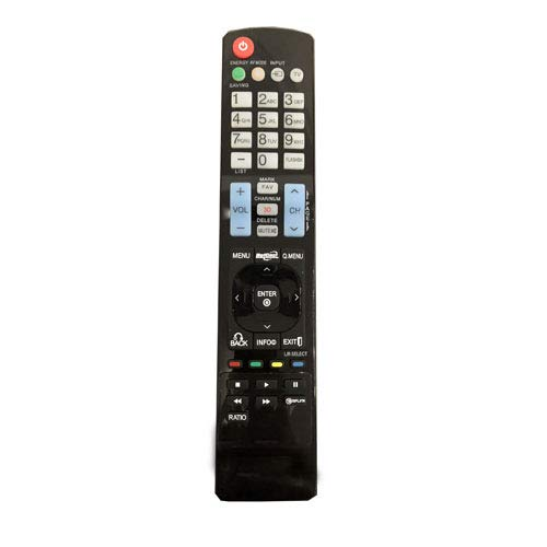 Easy Replacement Remote Control Suitable for LG MKJ42519615 50PK750-UA 50PK540-UE 42PW350 Plasma LCD LED HDTV TV