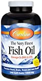 Best Cod Liver Oils - Carlson Labs Very Finest Fish Oil, Lemon, 1000mg Review