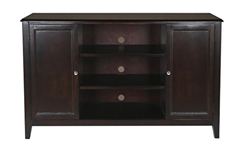 New Classic Ventura Entertainment Console, Black Cherry by New Classic