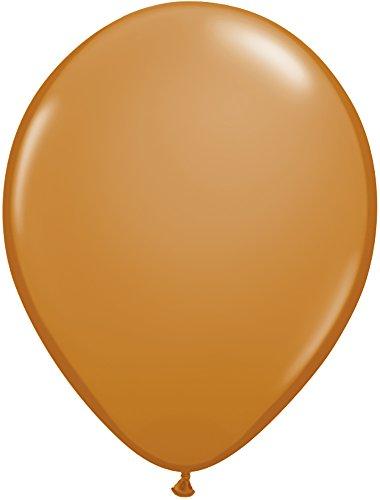Mocha Latex Brown (Pioneer Balloon Company 100 Count Latex Balloon, 11