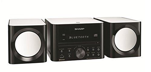 XL-LS703B-GB Sharp Bluetooth Speaker System (Gloss black)