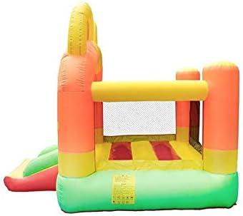 XZJJZ Château Gonflable for Enfants Cartoon Aire de Jeux extérieure for Enfants Glisser Saut Bouncy Trampoline Soft Play Amusement Park