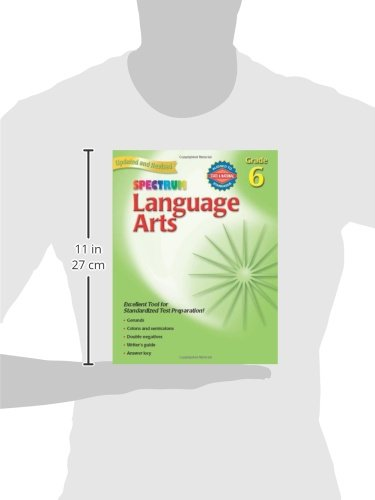 Amazon.com: Language Arts, Grade 6 (Spectrum) (9781586830823 ...