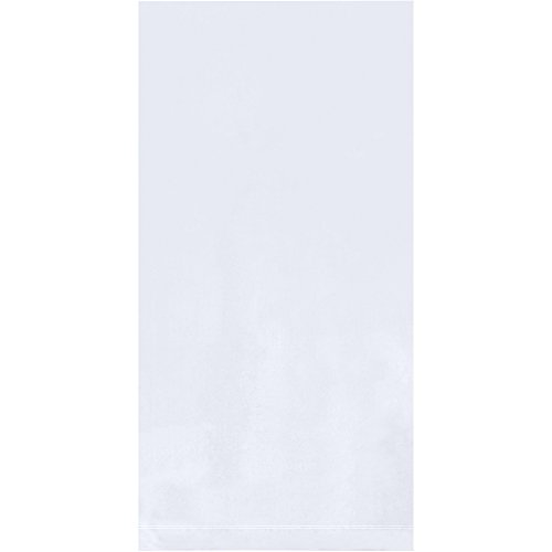 "Flat 1 Mil Poly Bags, 3"" x 10"", Clear, 1000/Case"