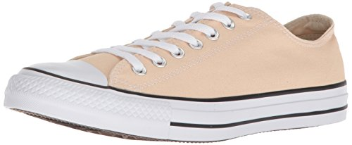 Converse Chuck Taylor All Star Seasonal Canvas Low Top Sneaker, Raw Ginger, 5 US Men/7 US Women