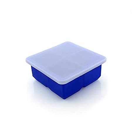 ZZALL cubitos de hielo, cubitos de hielo, caja con tapa ...