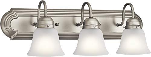 Kichler Lighting 5337NIS Three Light Bath