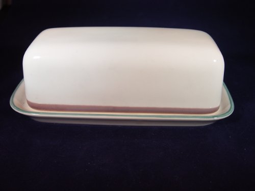 Pfaltzgraff Juniper Quarter Pound Covered Butter Dish Tray 0.25 Lb Butter