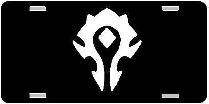 World of Warcraft Horde Vanity Novelty License Plate