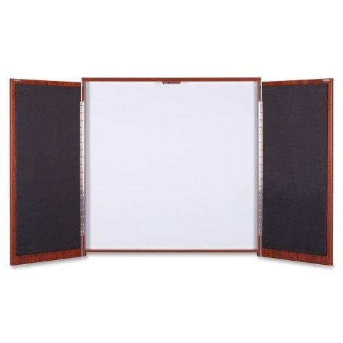Lorell Presentation Cabinet, 47-1/4''x4-3/4''x47-1/4'', Cherry (LLR69866) by Lorell