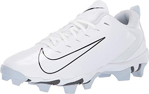 Nike Men's Vapor Untouchable Shark 3 Football Cleat White/Pure Platinum/Dark Grey Size 11 M US (Nike Football Cleats All White)