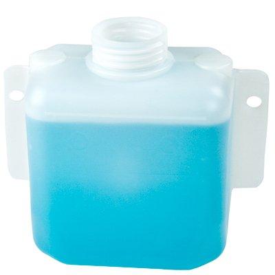 1.5 Quart Natural High Density Polyethylene Tank w/Mounting Tabs 6.875'' L x 6.00'' W x 3.625'' H (2.25'' Neck)