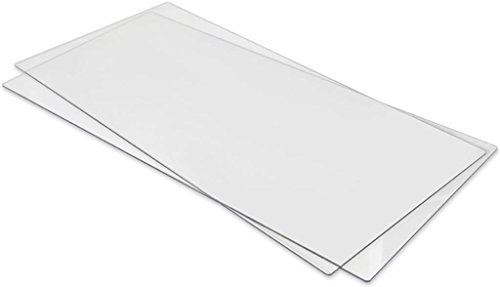 Extended Cutting Pads (Sizzix Fabi Big Shot Pro Cutting Pads 1 Pair, Extended)
