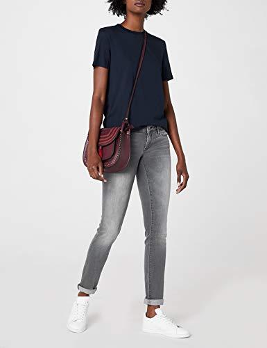 22486 Glam Jeans grey Lindy Mavi Slim Donna Grau 08wqwg