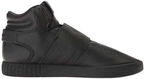 Adidas Heren Buisvormige Band Invader Fashion Sportschoen, Zwart / Zwart / Nut Zwarte Stof, (12,5 M Us)