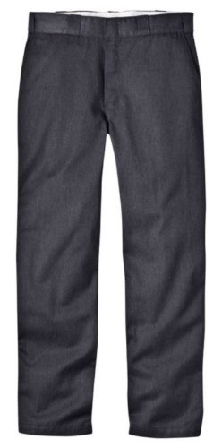 Dickies Men's Original 874 Work Pant, Charcoal, 29W x - Pants Flannel Lined Dress