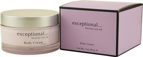 Exceptional because you are by exceptional parfums for women body cream 7 ounces