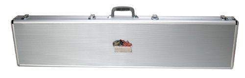 T.Z. Case International Pro-Tech Single Rifle Shotgun Case, Silver, 53-Inch ()