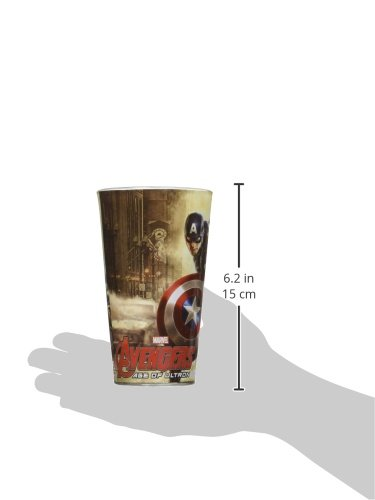 ICUP Marvel Avengers Age of Ultron Full Color Pint Glass (4 Pack), Clear by ICUP (Image #3)
