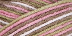 Bulk Buy: Red Heart Super Saver Yarn  Pink Camo E300-972