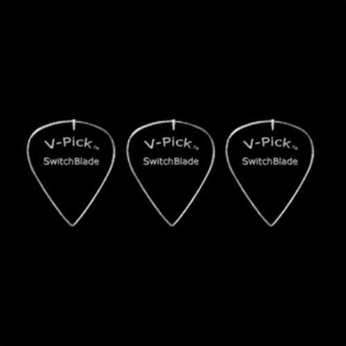 Ghost Rim Guitar Pick, 3-Pack ()
