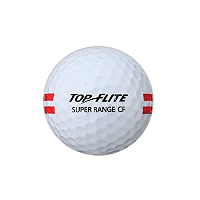 24 Pack Top Flite Super Range Restricted Flight Golf Balls - White