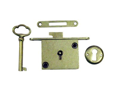 CompX National Chest Lock Full (Full Mortise Cabinet Lock)