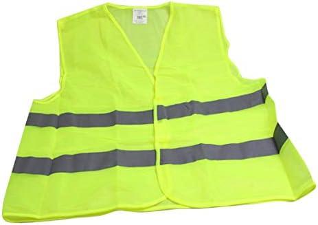 Tivollyff 反射ストライプ交通警告ベスト作業服衛生労働者アシスタント警察のための高い視認性保護ベスト