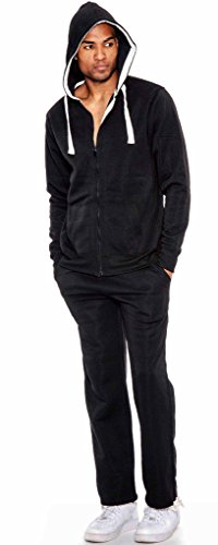 True Rock Men's Active Full Zip Sweatsuit