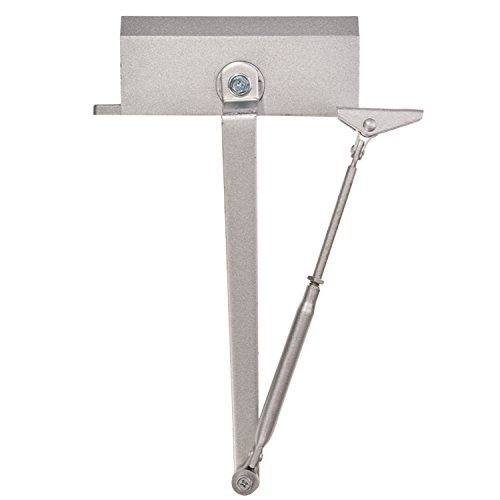 Fashine Door Closer Stainless Steel Aluminum Alloy Door Accessory 65 85Kg 143 187Lbs Load Bearing  Us Stock