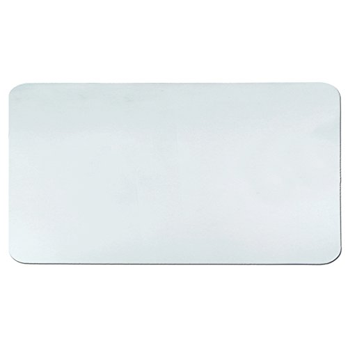 Artistic 20' x 36' Krystal View Clear Antimicrobial Desk Pad Organizer with Microban, Clear