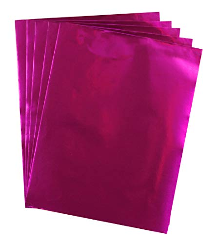 Hygloss Products 26858 Metallic Paper 12 Sheets 8.5
