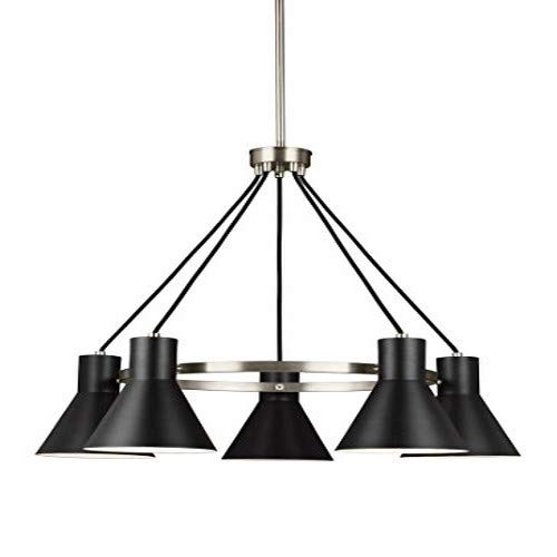 Sea Gull Lighting 3141305-962 Towner Five Light Chandelier, Brushed Nickel Finish