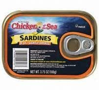 Chicken of the Sea Sardines in Oil - Lightly Smoked 3.75 Oz. (8 Pack)