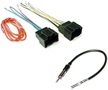 Amazon.com: ASC Audio Car Stereo Radio Wire Harness Plug and Antenna Adapter  for some Buick Chevrolet GMC Pontiac Saturn Vehicles - Compatible Vehicles  Listed Below: Car Electronics | Chevrolet Truck Wiring Harness Adapter Dvd |  | Amazon.com
